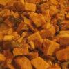 Tempeh con cipolle e porcini