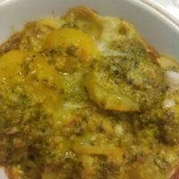 Pasticcio di patate ai pistacchi